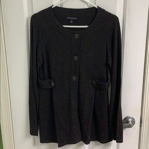 Banana Republic sweater with buttons size M